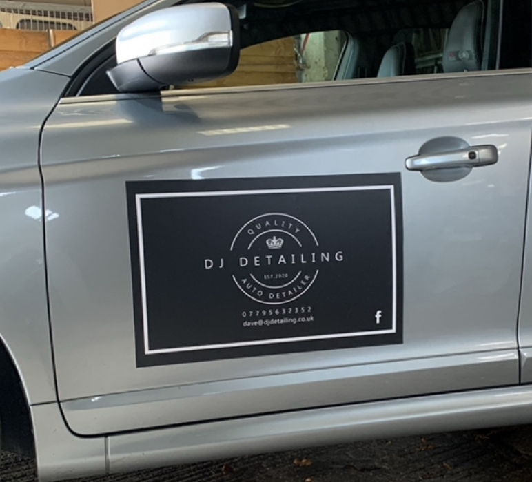 DJS Detailing - Vehicle Magnet Sign